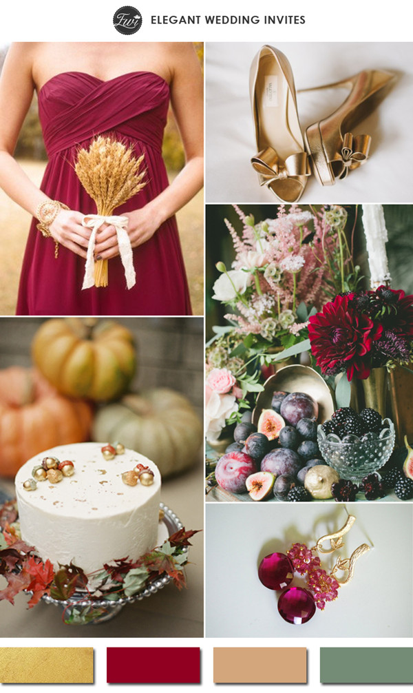content styleand fashion guide wedding colors