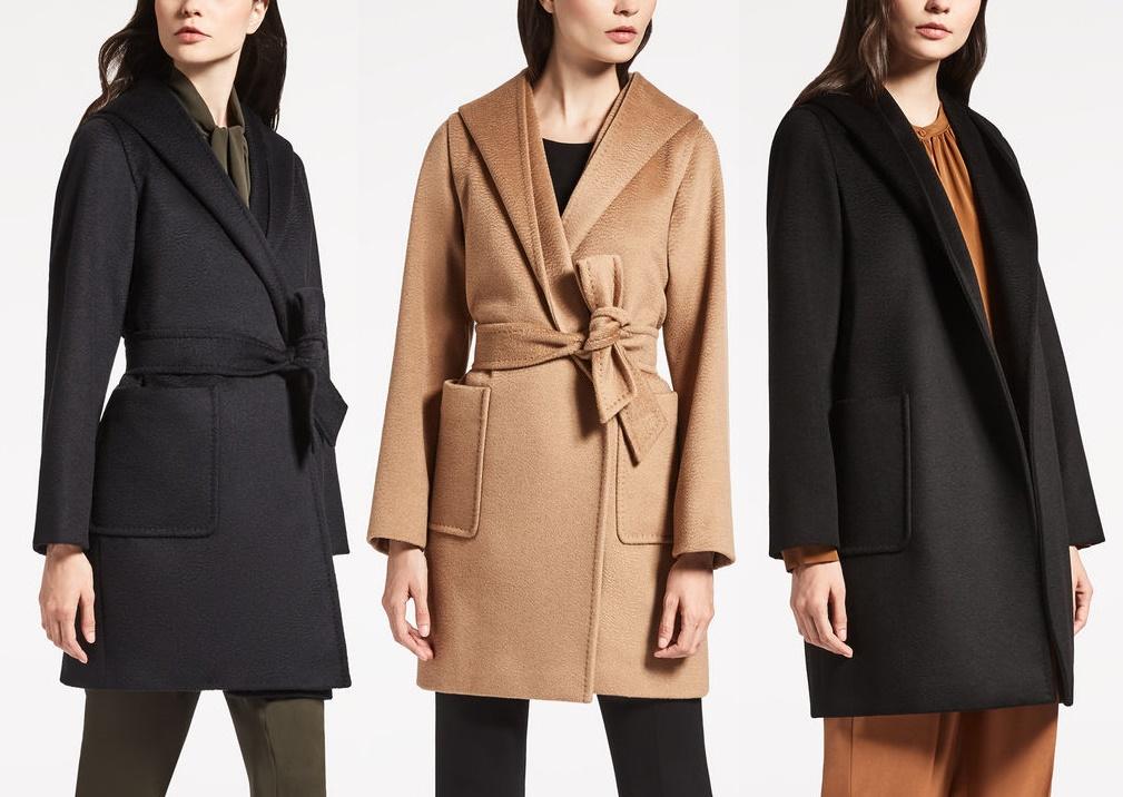 Пальто макс мара осенью зимой