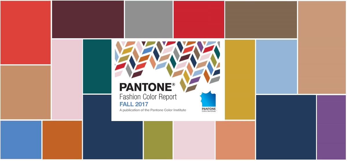 Самые модные цвета осень — зима 2017/18 — PANTONE Fashion Color Report Fall 2017/18 -