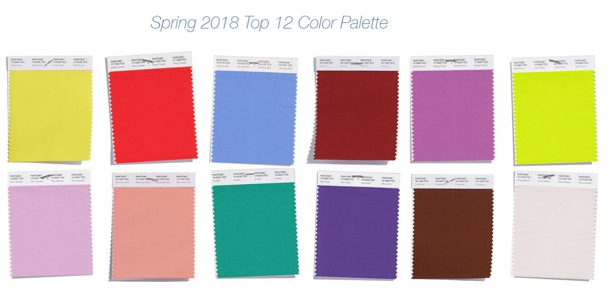 Самые модные цвета весна-лето 2018 — PANTONE Fashion Color Report Spring  2018 5311d071529